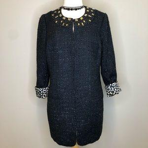Chicos | Ani Glam Meo Black Gold Jacket Blazer